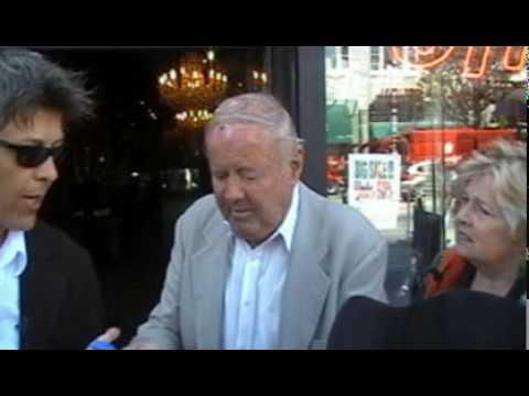 Dick Van Patten Walking in Hollywood