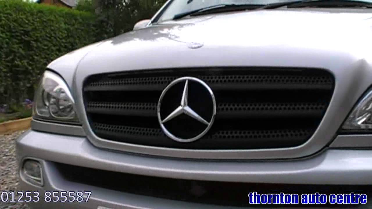2002 mercedes ml 270 cdi automatic youtube. Black Bedroom Furniture Sets. Home Design Ideas