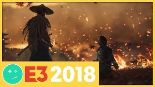 Ghost of Tsushima Behind Closed Doors at E3 2018 - Kinda Funny Games Impressions