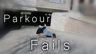 BEST PARKOUR FAILS 2015  -  RonnieStreetStunts