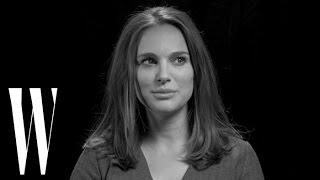 Natalie Portman Might Still Think About Kissing Patrick Swayze | W Magazine