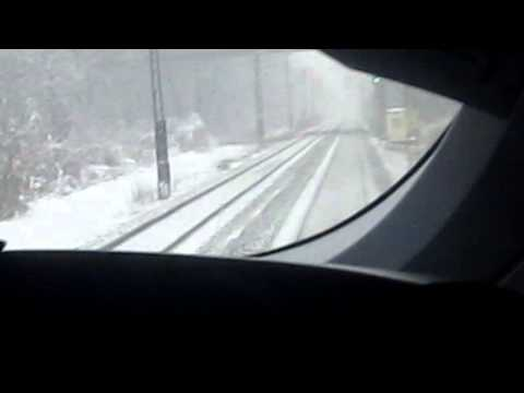 German ICE Train to Munich