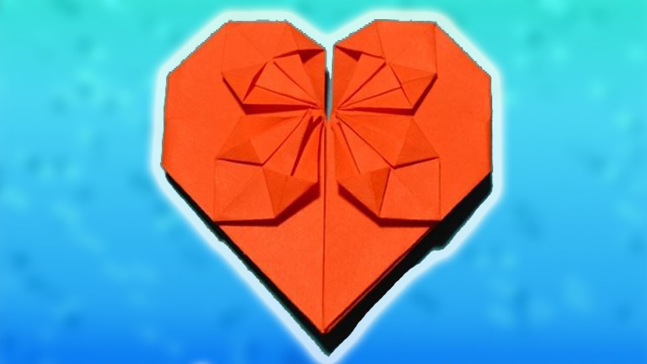 Сделать сердце из бумаги