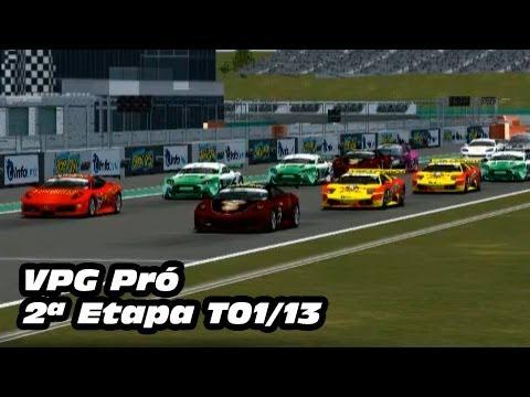 2ª etapa cat. Pro da Liga VPG, liga de pilotos virtuais