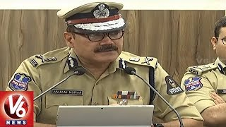 Hyderabad CP Anjani Kumar Speaks To Media On Ganesh Immersion and Muharram Security Arrangements