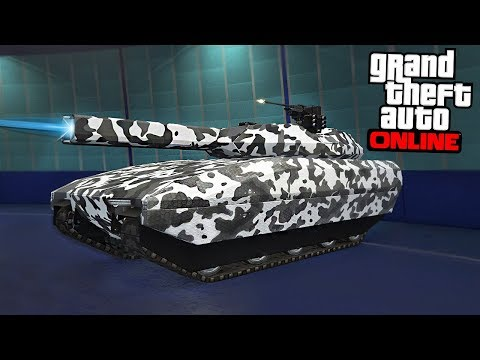 GTA Online - CARBON FIBER TANK (10,000,000 Spending Spree)