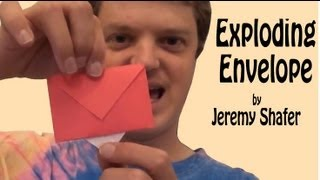 Origami Exploding Envelope by Jeremy Shafer