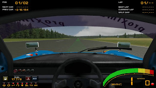 [Game][Racing] GTR2 Driving School Track Work Techniques 1 Basics - 1 Acceleration - Level 6 Observe