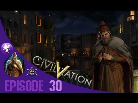 Civilization 5 Brave New World Gameplay: Venice Playthrough Episode 30: Eiffel Tower