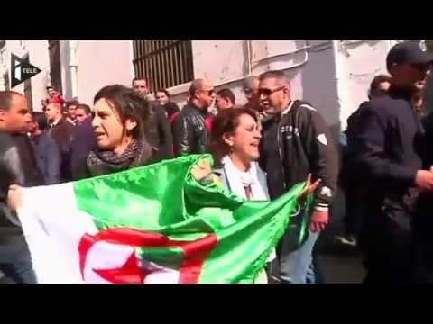Algérie : manifestation anti-Bouteflika à Alger - Le 06/03/2014 à 19:47
