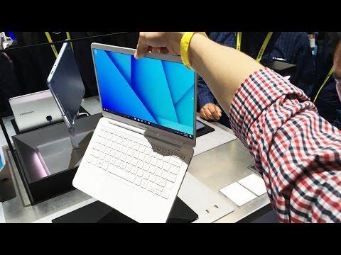 Суперлегкий ноутбук Samsung 9 серия на выставке CES