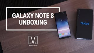 Samsung Galaxy Note 8 Unboxing (Retail Box)