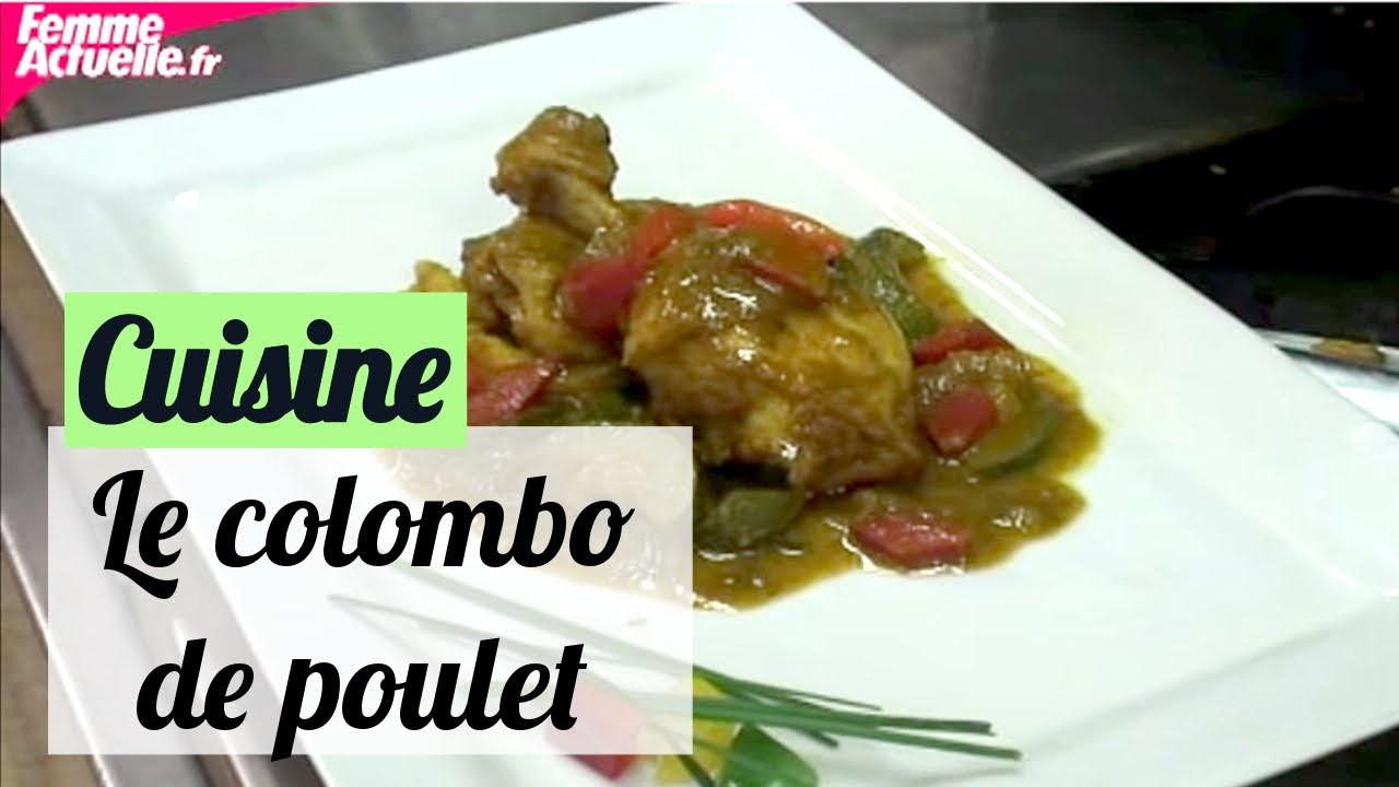 la recette du colombo de poulet recettes de chef