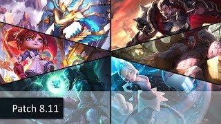 High Elo 3v3 Twisted Treeline Ranked Gameplay 4: Korean Challenger (KR Server)