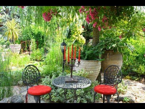 Garten Mit Mediterranen Akzenten In Deutschland 2