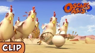Oscar's Oasis - Chicken Chase | HQ | Funny Cartoons