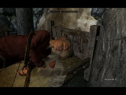 Skyrim: Killable Children Mod - Cocky Kid? Slaughter him and his family in cold blood!
