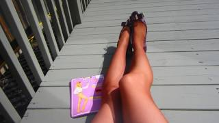 Vintage Pantyhose - Miss Canada Brand - chocolate shade tights review