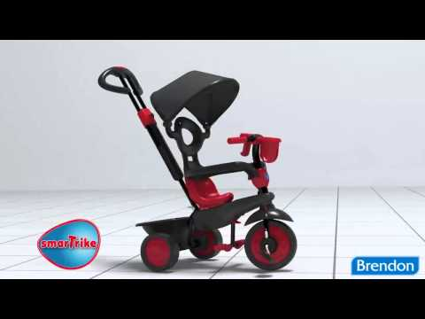 Велосипед Smart Trike Boutique Red smarTrike Boutique 4 in 1 TS tricykel   Touch Steering Technology
