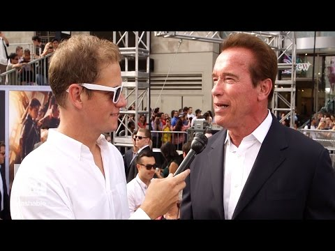 Not even a real explosion can make Arnold Schwarzenegger flinch | Mashable