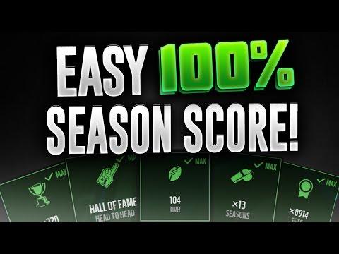 ULTIMATE SEASON SCORE GUIDE! Cheap 99 Overall for Season Score! Madden Mobile