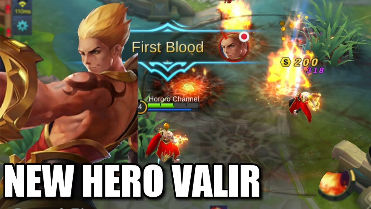 NEW HERO VALIR THE SON OF SAIYANS ANIMATION AND SKILLS EXPLANATION