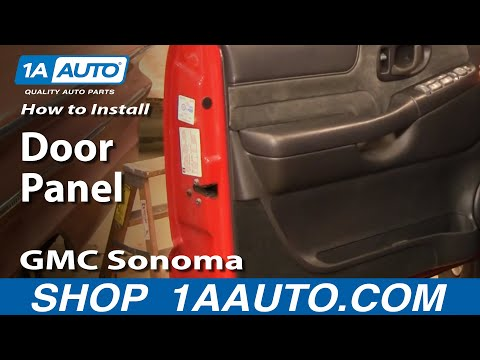 How to Install Remove Door Panel GMC Sonoma S15 96-04 1AAuto.com