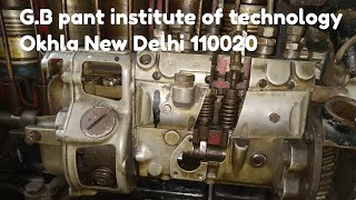 Automobile engineering g.b pant institute of technology