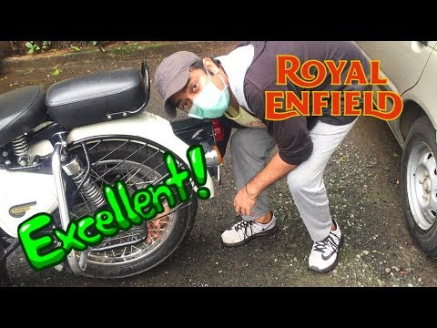 How to start Royal enfield bike without self or kick start | Any bike | tips and tricks