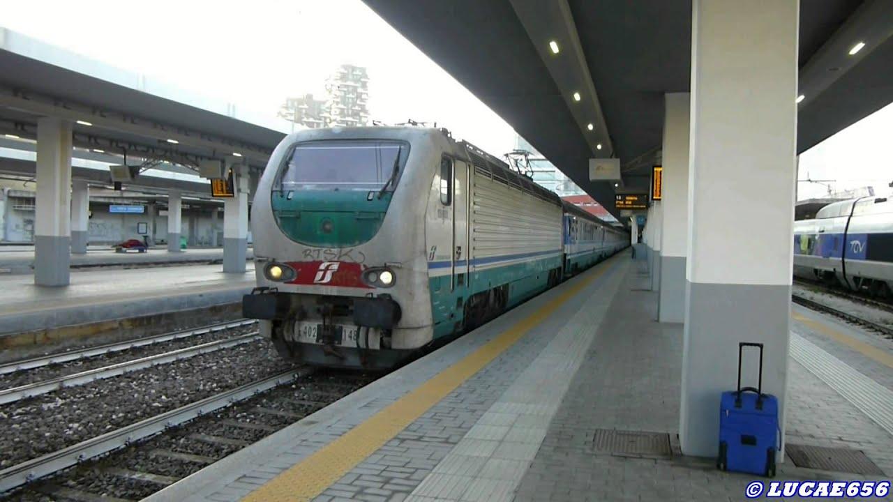 Icn 35912 aggancio loco e al treno a na e - Treno milano porta garibaldi bergamo ...