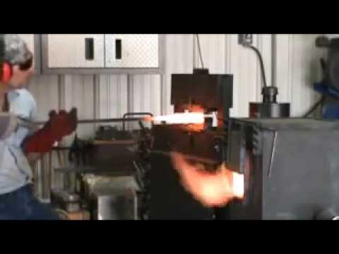 The Making of a Spiral Welded Damascus Gun Barrel