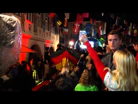 WM 2014: Weltmeister-Party # Public-Viewing Haslach im Kinzigtal