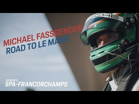 Michael Fassbender: Road to Le Mans – Episode 5 Spa Francorchamps