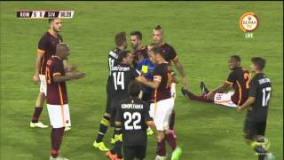 (Full Match) Part 2  AS Roma vs Sevilla  (14-8-2015)