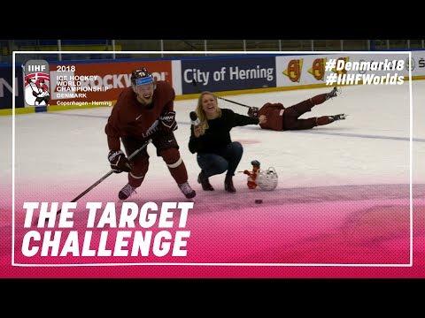 Shooting Challenge Latvian Edition: Balcers vs. Bukarts | #IIHFWorlds 2018