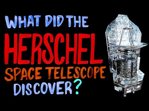 What Did The Herschel Space Telescope Discover?