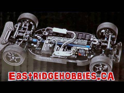 RC ADVENTURES - BRUSHLESS TOURING DRIFT CAR PART 1 TAMIYA TT01 R KIT CUSTOM KIT