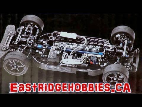 RC ADVENTURES - BRUSHLESS TOURING DRIFT CAR PART 1 TAMIYA TT01 R KIT CUSTOM KIT