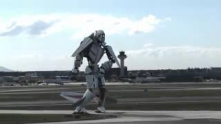 Máy bay biến hình thành Robot có thật