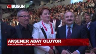 MERAL AKŞENER KARARINI VERDİ; ADAY OLUYOR