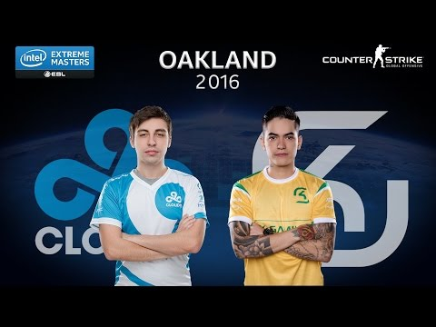 CS:GO - Cloud9 vs. SK [Dust2]  - Group B - IEM Oakland 2016