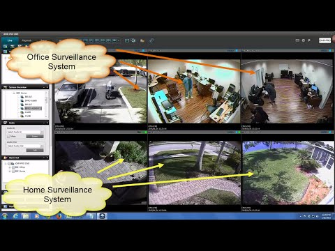 View CCTV Security Cameras at Multiple DVR Locations with iDVR-PRO