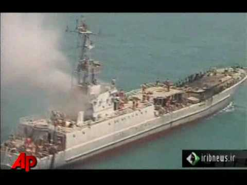 Raw Video: Iran Begins War Games in Persian Gulf