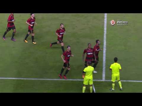 Melhores Momentos - Sport 3 X 0 Santa Cruz - Campeonato Pernambucano (15/03/2018)