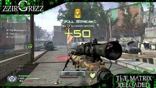 zzirGrizz The Matrix Reloaded MW2 Montage Part 1