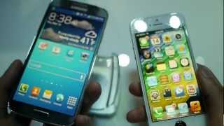 Samsung Galaxy S 4 vs Apple iPhone 5 first look