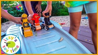 IKEA CAR REPAIR PLAYSET! WITH FRIENDS! Cars for Kids!