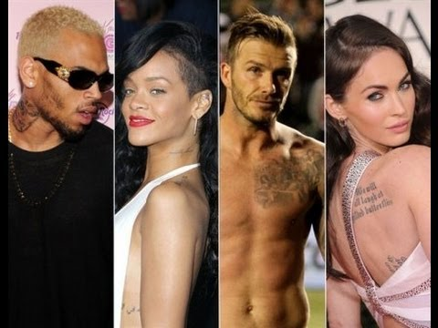The World Celebrities & Their Tattoo Controversies