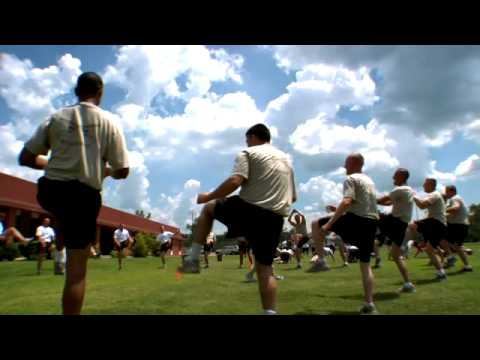 Military Fitness Training Video: Fit To Fight At Camp Shelby video