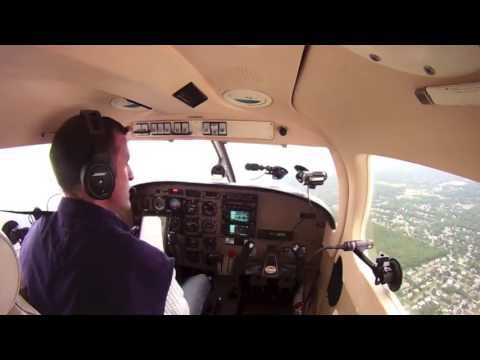 Flying in a Piper Archer III,  using  my NFLIGHTCAM GPS